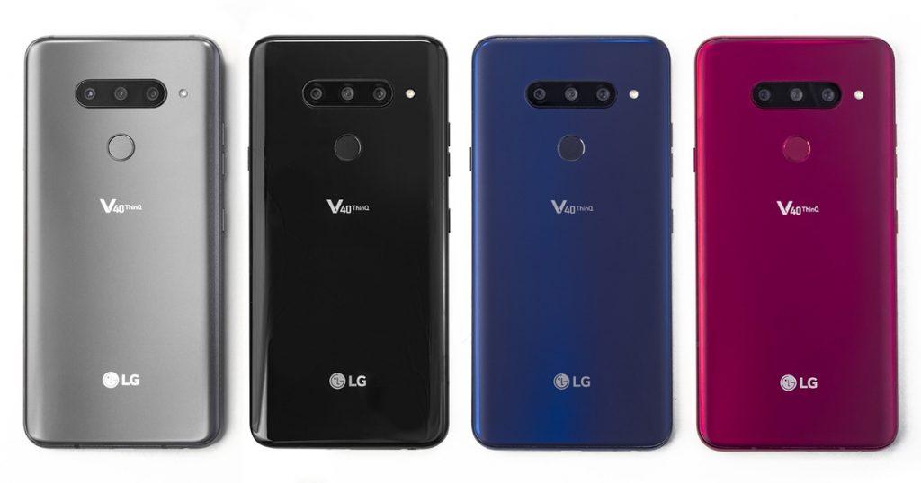 LG: Neues Smartphone-Flaggschiff V40 ThinQ offiziell vorgestellt