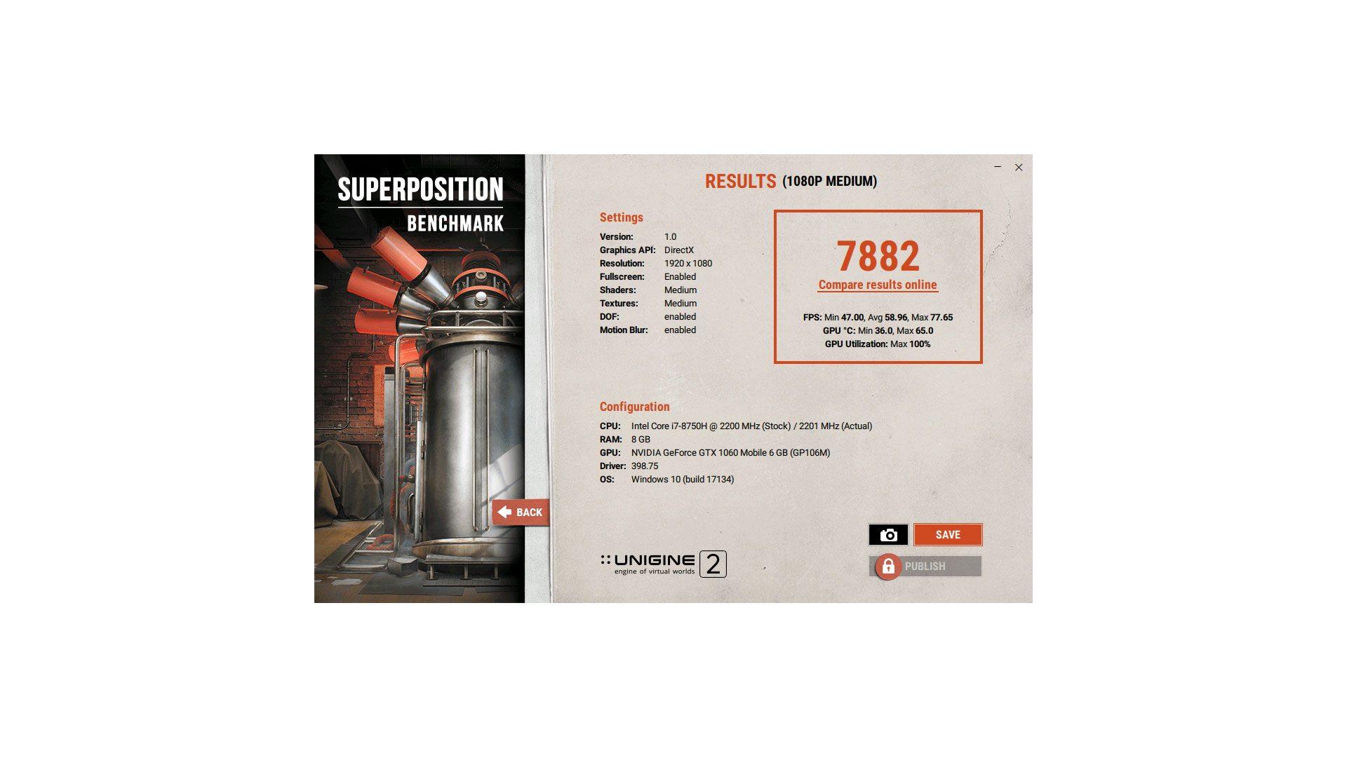 MEDION ERAZER X6805 Grafik_6