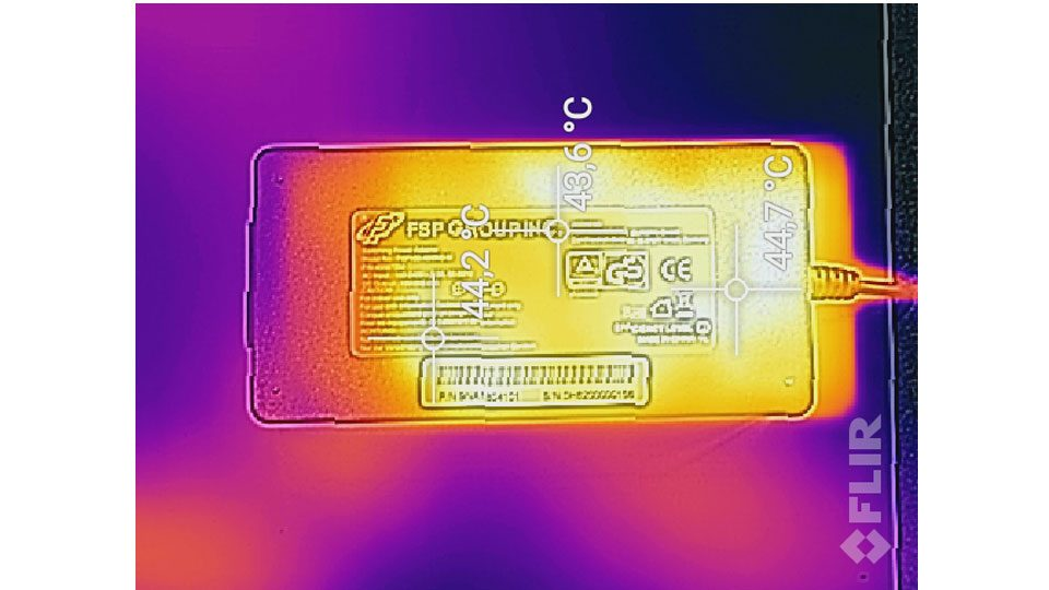 MEDION ERAZER X6805 Hitze_5