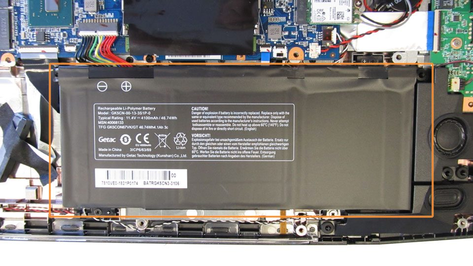 MEDION ERAZER X6805 Innen_2