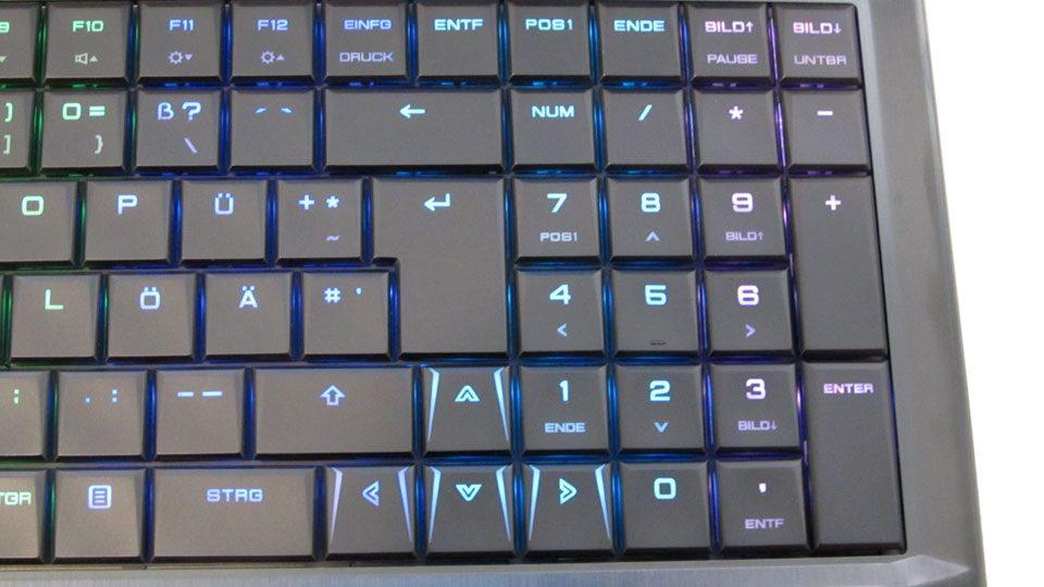 MEDION ERAZER X6805 Tastatur_3