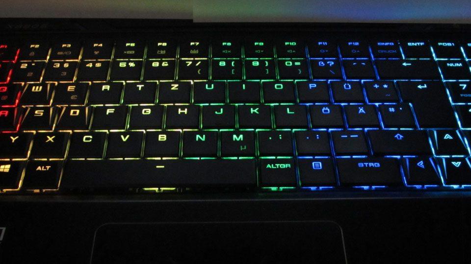 MEDION ERAZER X6805 Tastatur_6