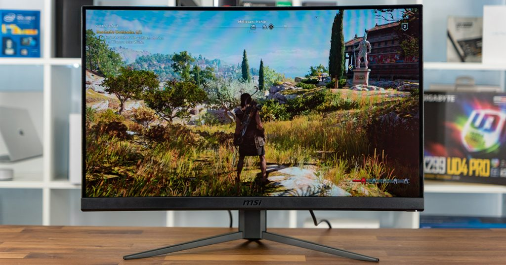 MSI Optix MAG271C: Curved 27″ Gaming-Monitor mit Full HD im Test