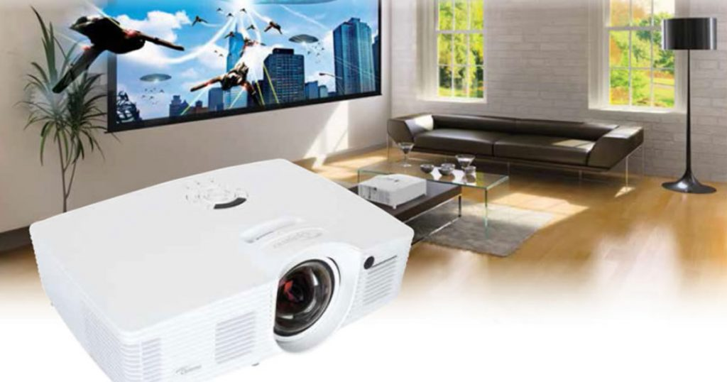 Optoma GT1070Xe Beamer – Full HD Gaming und Heimkino aus kurzer Distanz