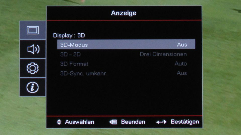 Optoma HD143x Settings_8