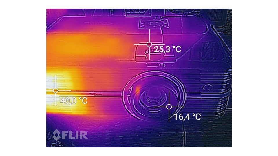 Optoma UHD350X Hitze_4