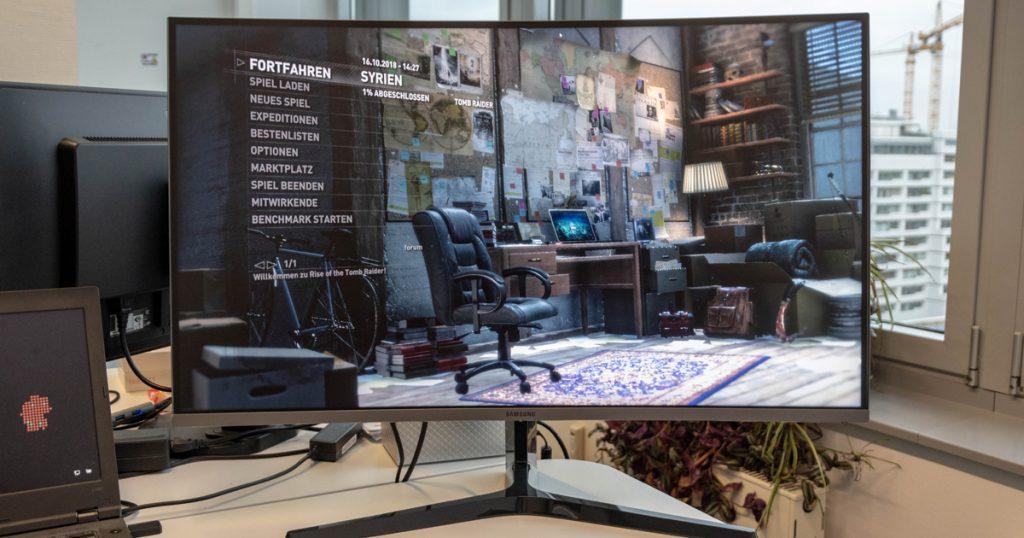 "Samsung C32JG50: 31,5"" Gaming-Monitor mit 144Hz"