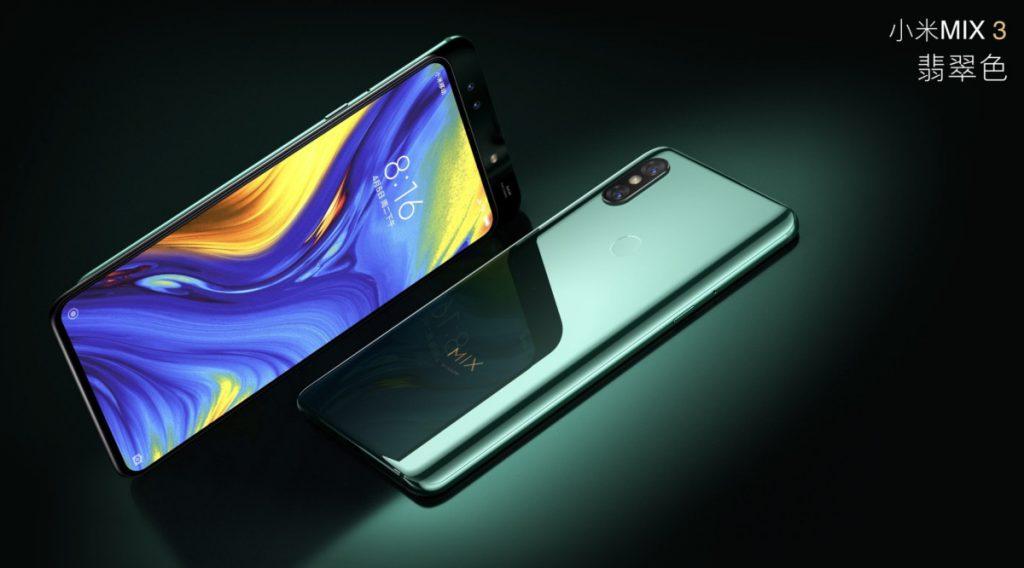 Xiaomi Mi Mix 3 grün
