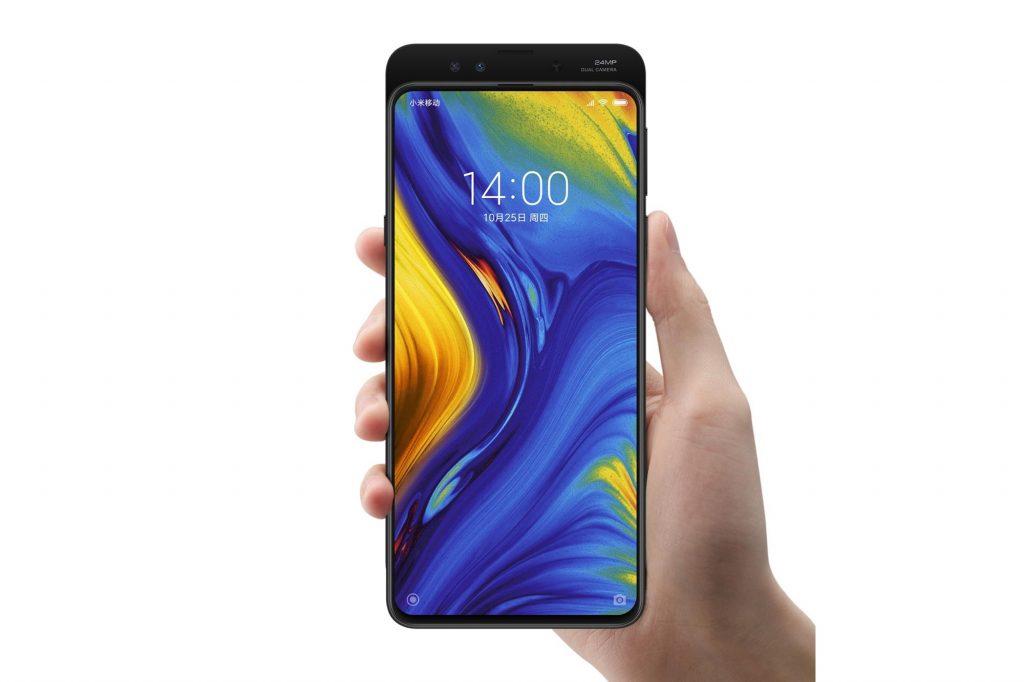 Xiaomi Mi Mix 3 In hand