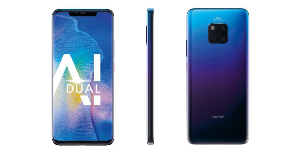 Huawei Mate 20 (Pro) nun auch offiziell vorgestellt