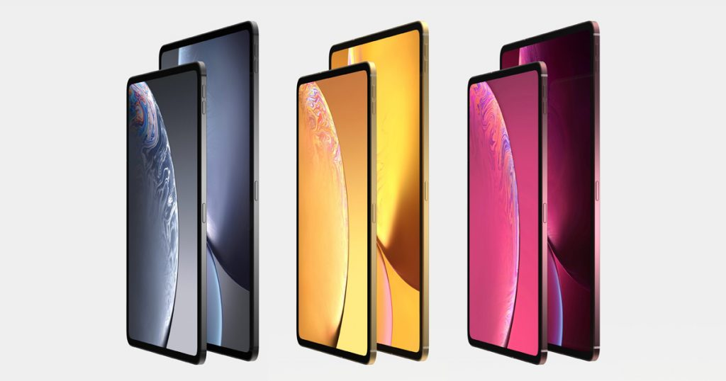 So könnte Apples neues iPad Pro aussehen