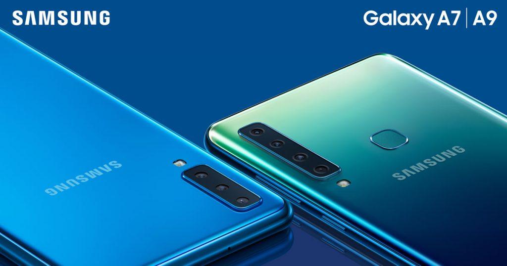 Samsung stellt Galaxy A9 mit 4-Fach Kamera vor
