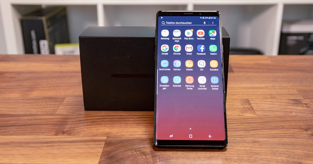 Samsung Galaxy Note 9: In jeder Beziehung High-End