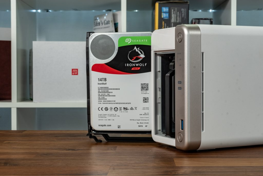 QNAP TS-251B mit Seagate IronWolf HDDs
