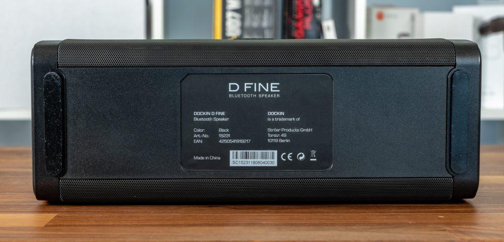 Dockin D Fine Unterseite