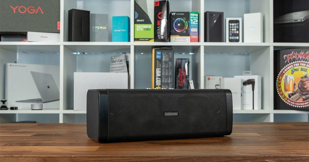 Bluetooth Lautsprecher Dockin D Fine im Test: klingt schon geil