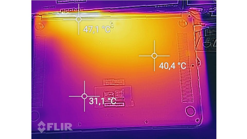 HUAWEI MateBook D W60B Hitze_2