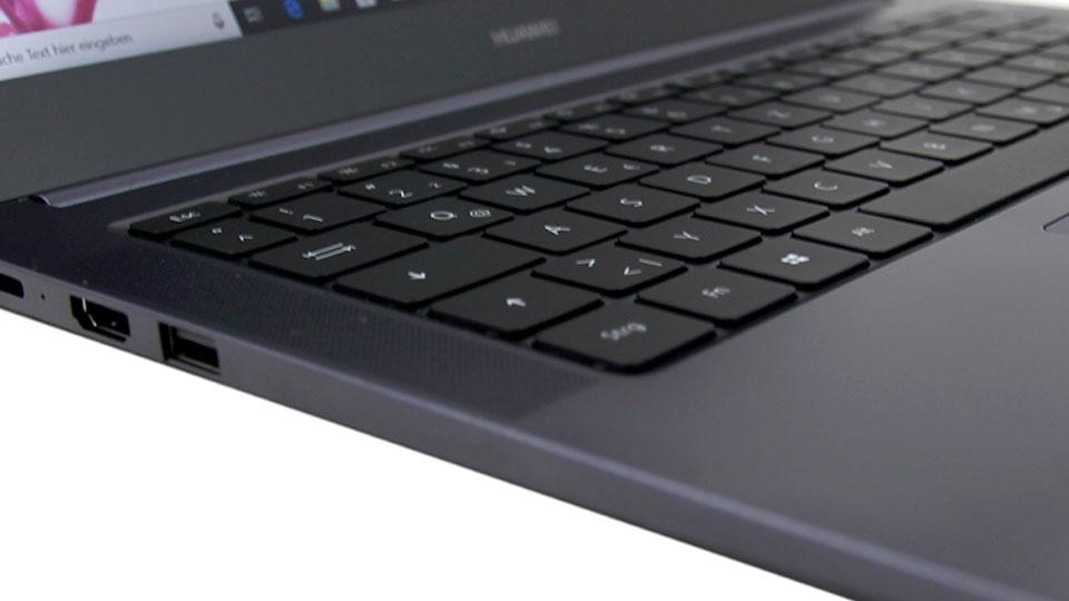 HUAWEI MateBook D W60B: Kleines Ultrabook mit Alu-Gehäuse