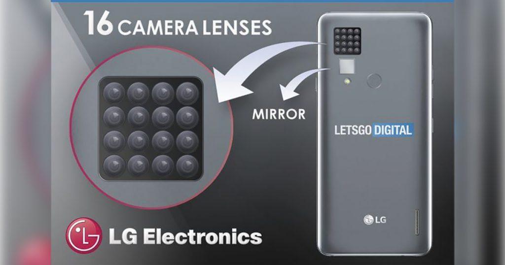 Einer musste es ja wieder übertreiben: LG plant Smartphone mit 16 Kameras
