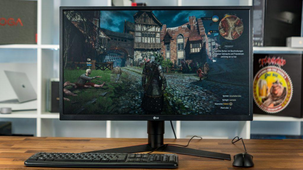 LG UltraGear 27GK750F Display