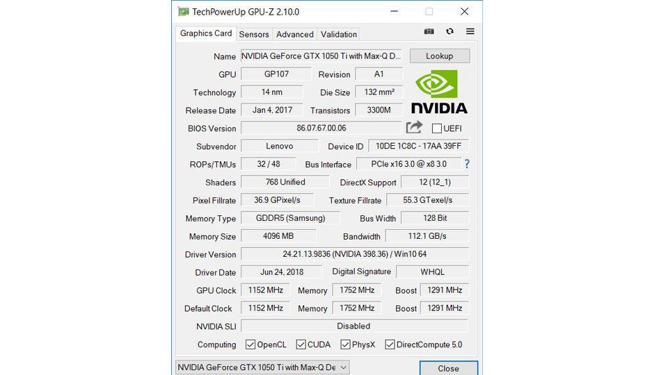 Lenovo Ideapad 720S-15IKB 81AC0034GE Hardware_8