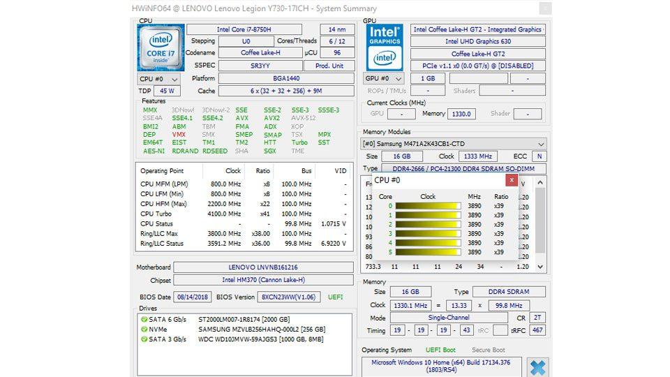 Lenovo Legion Y730-17ICH Gaming Hardware_10