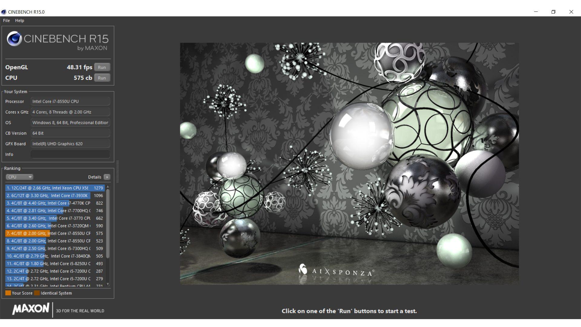 Lenovo Thinkpad L580 Benchmark_4