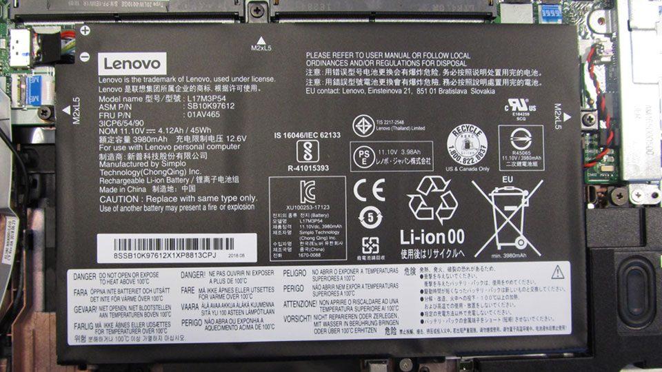 Lenovo Thinkpad L580 Innen_3