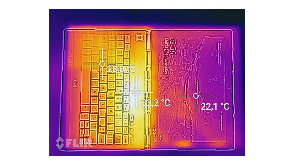 Lenovo Yoga Book C930 Hitze_1