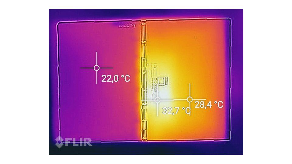 Lenovo Yoga Book C930 Hitze_2