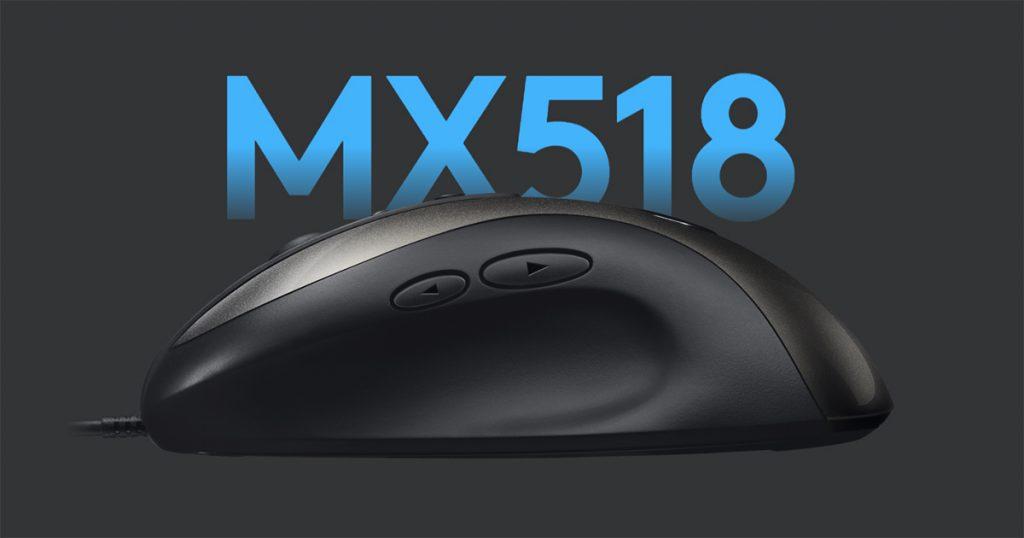 Logitech MX518 Legendary: Maus-Ikone wird wiederbelebt und kommt nach Europa