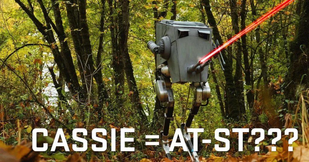Only in America: Wenn ein Roboter zum AT-ST aus Star Wars wird