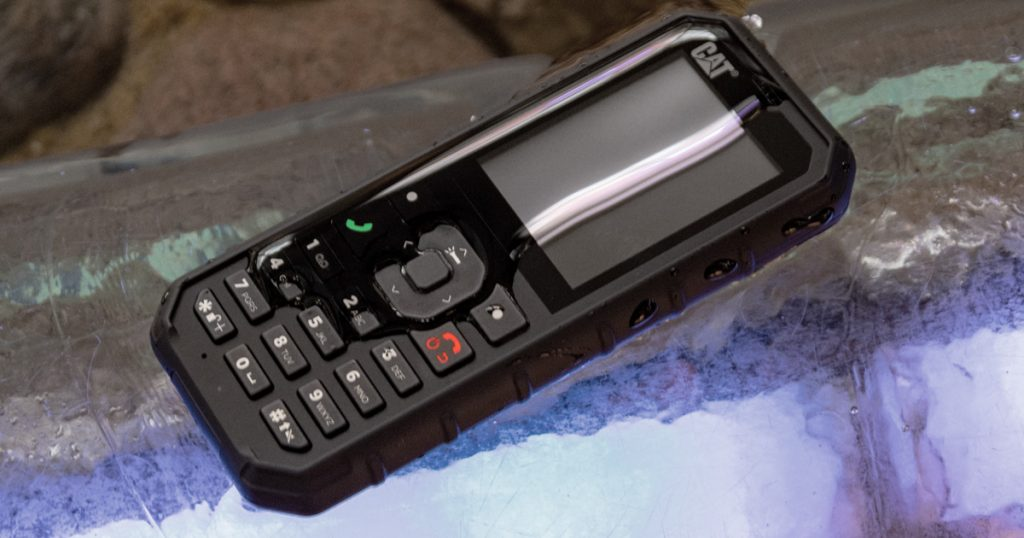 CAT B35: Schlankes und sehr robustes Feature-Phone
