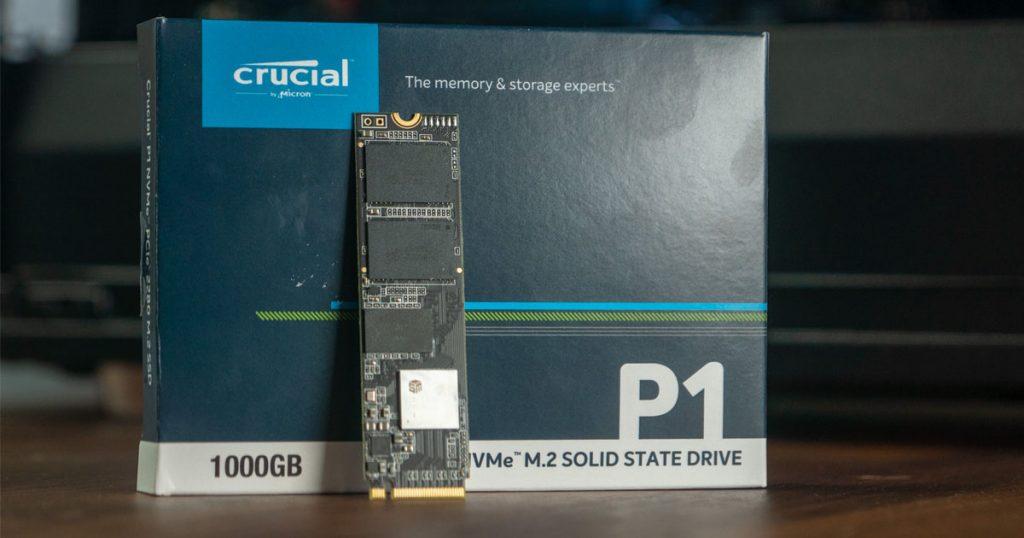 Crucial P1: PCIe und NVMe für die Massen?