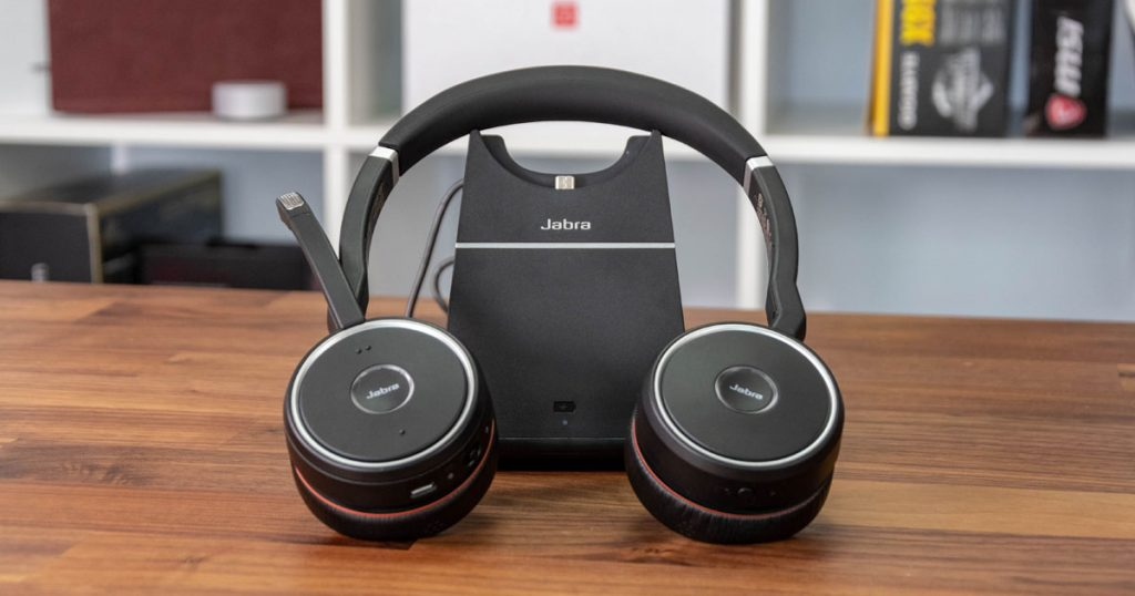 Jabra Evolve 75: Komfortables Bluetooth-Headset mit sinnvollen Features
