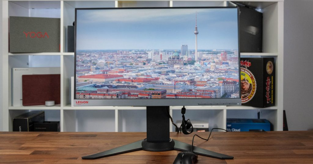 Schneller Full HD-Monitor mit 144Hz: Lenovo Legion Y25f