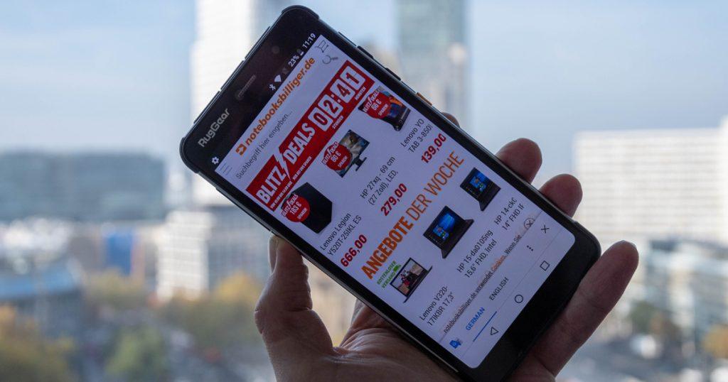 Unboxing RugGear RG850: Ziemlich robustes Outdoor-Smartphone