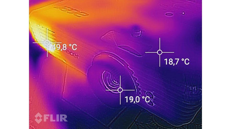 Acer M550 Hitze_4