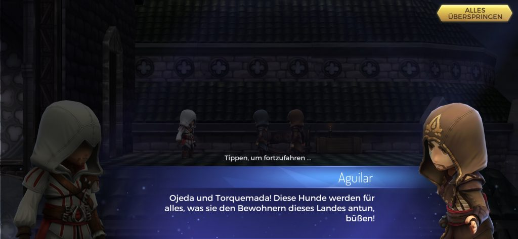 Assassin's Creed Rebellion Unterhaltung