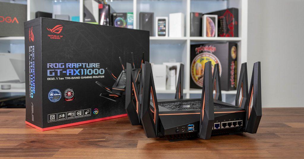ASUS ROG Rapture Gaming Router: ab sofort exklusiv bei uns erhältlich