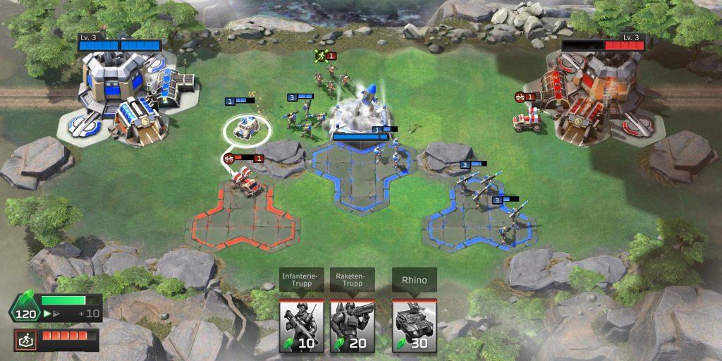 Command & Conquer Rivals Fight