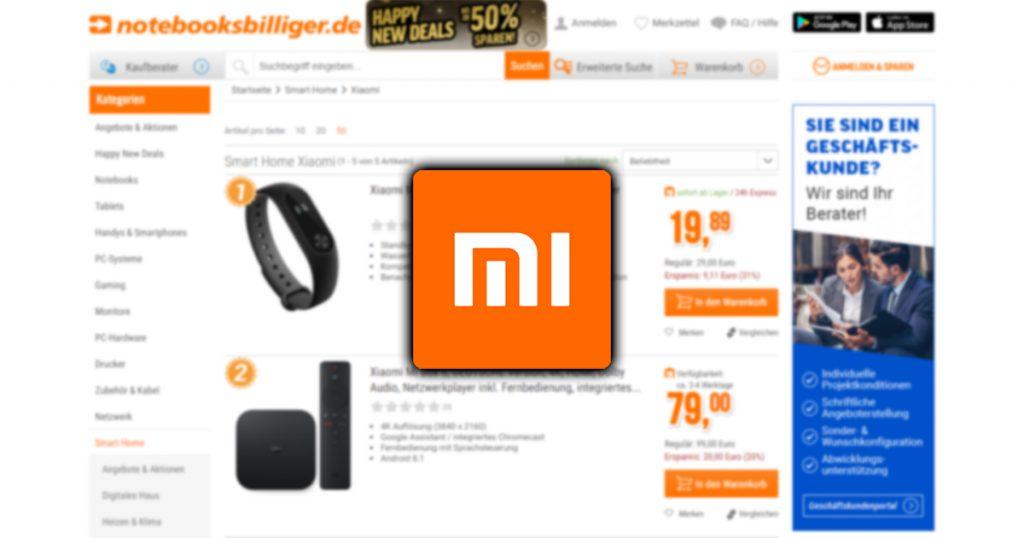Xiaomi: Mi Band, Mi Box, Mi Scooter und mehr ab sofort als DE-Ware bei uns im Shop erhältlich