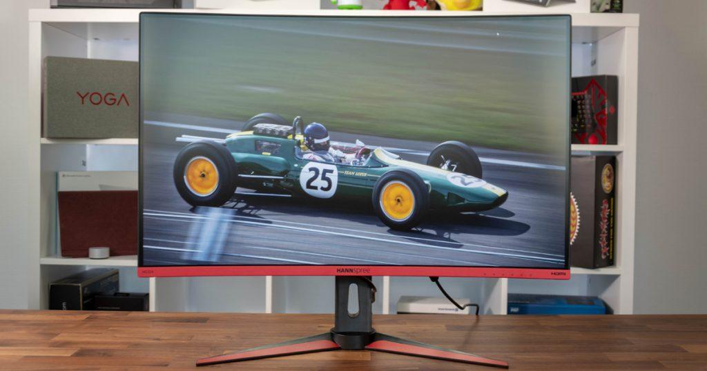 Hannspree HG324QJB: Schlanker Gaming-Monitor mit QHD-Auflösung und 144 Hz