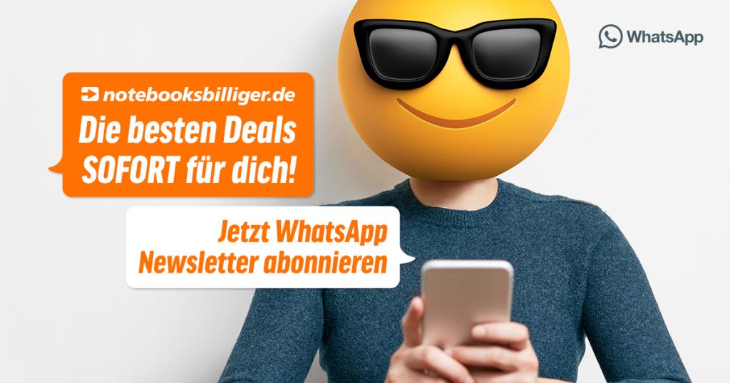 WhatsApp Newsletter: Jetzt anmelden und nie wieder ein Schnäppchen verpassen