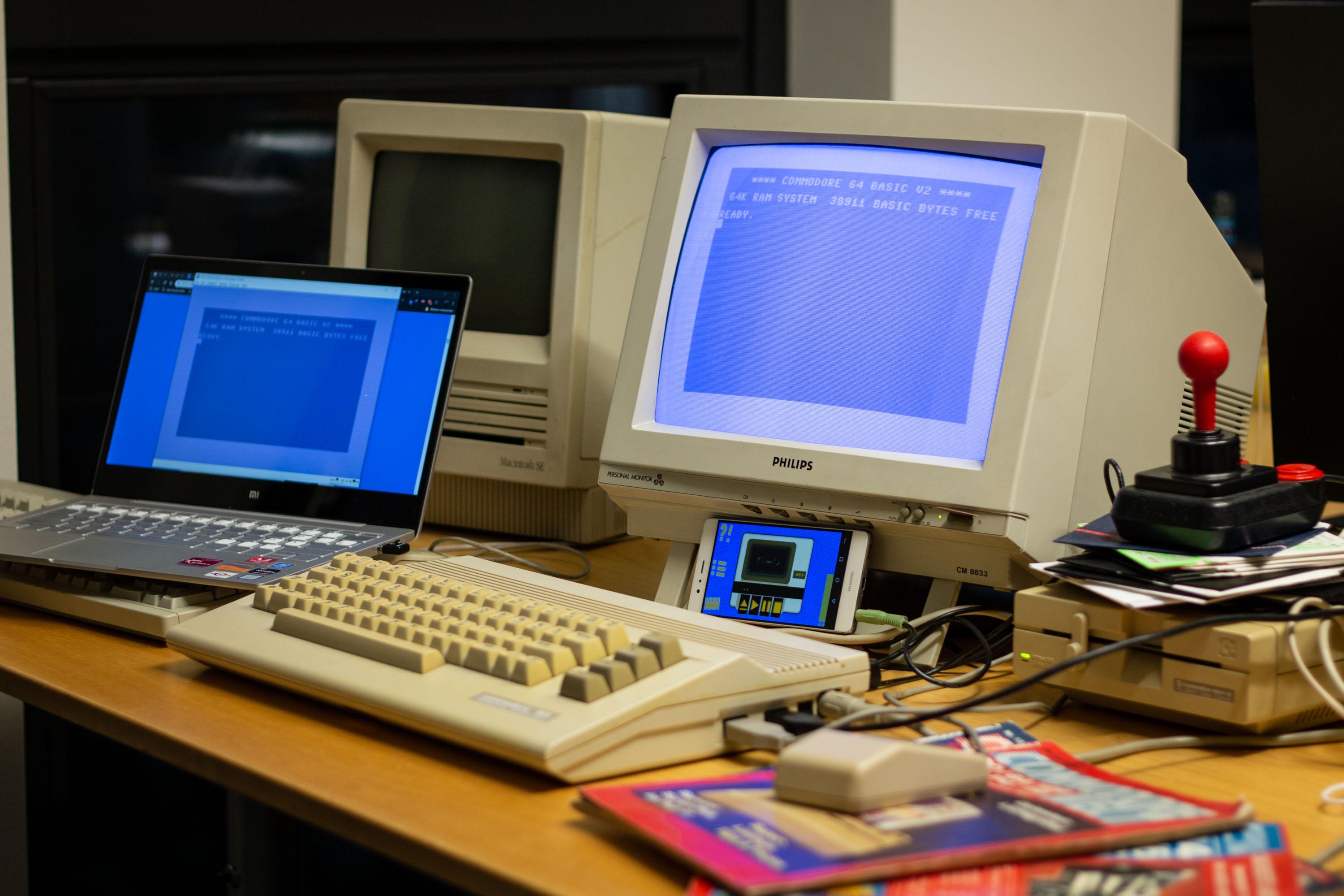 Commodore 64 mit WLAN: Der Brotkasten im Internet