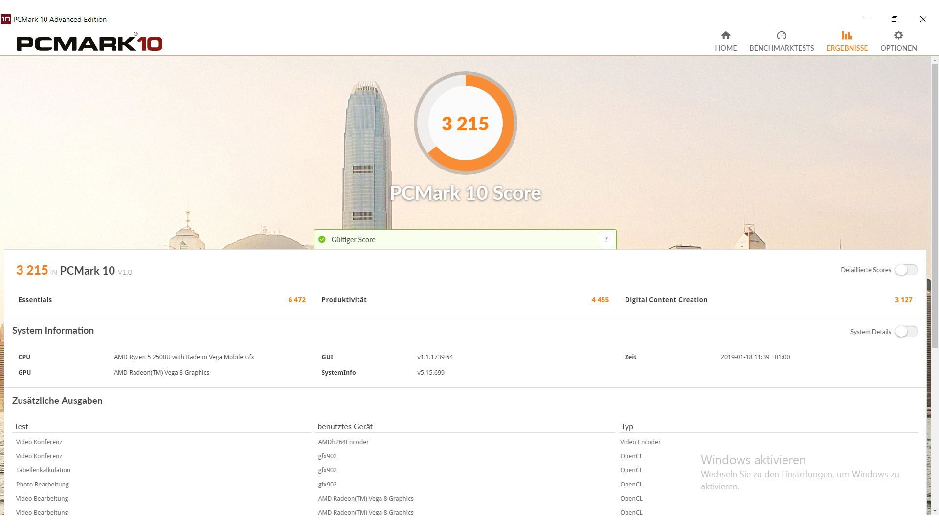 Acer Swift 3 Ultra Thin 15,6 Benchmark_1