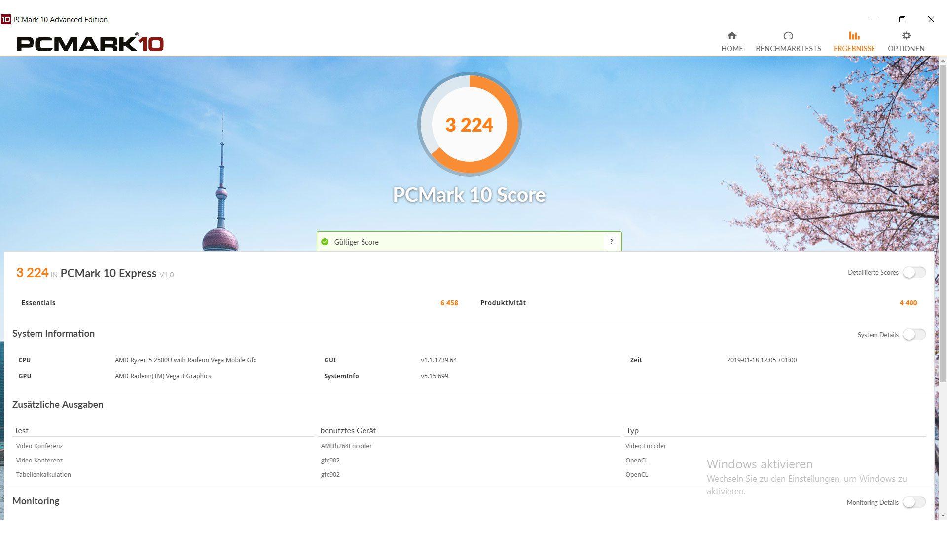 Acer Swift 3 Ultra Thin 15,6 Benchmark_2