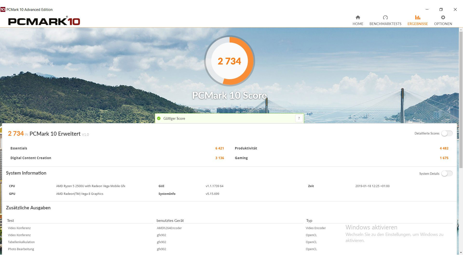Acer Swift 3 Ultra Thin 15,6 Benchmark_3