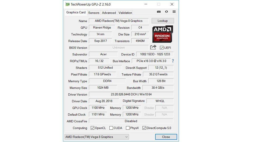 Acer Swift 3 Ultra Thin 15,6 Hardware_6
