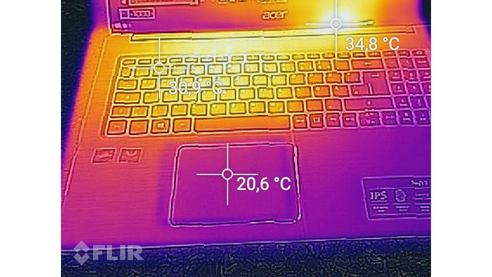 Acer Swift 3 Ultra Thin 15,6 Hitze_1